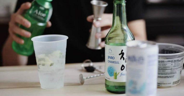 Cách Pha Cocktail Rượu Soju